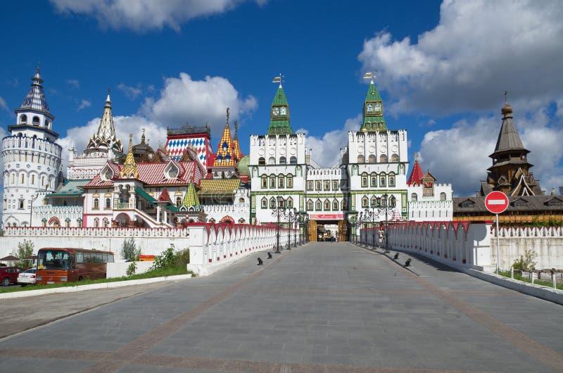 The Izmailovo Kremlin, Moscow, Russia royalty free stock photography