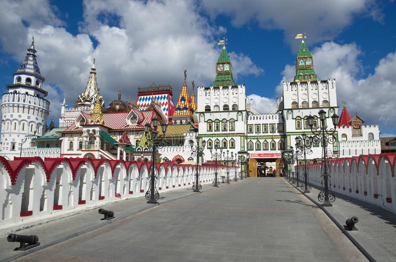 The Izmailovo Kremlin, Moscow, Russia royalty free stock images