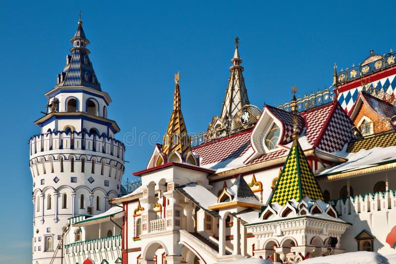 izmailovskiy kremlin moscow fotografering för bildbyråer