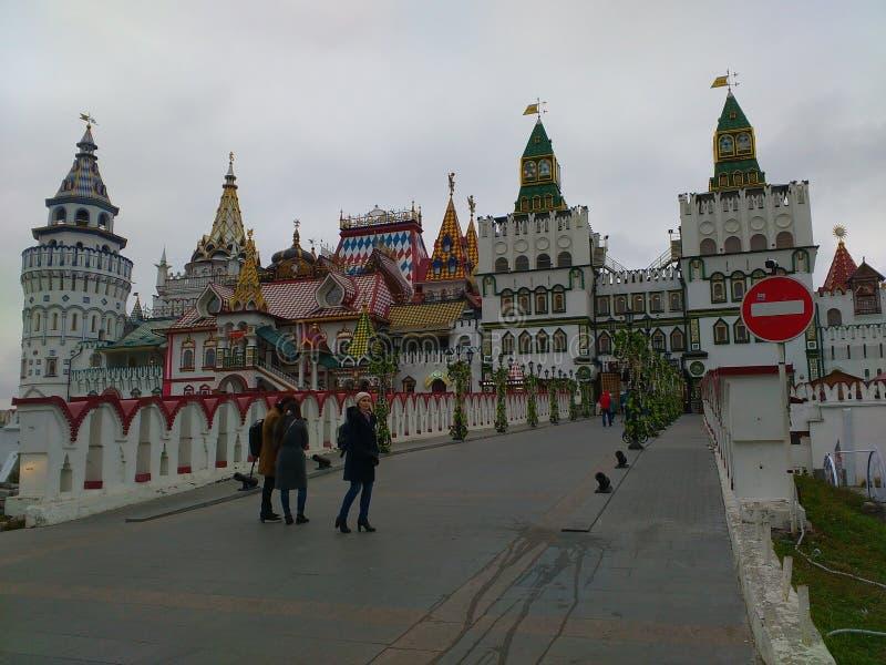 izmailovsky kremlin стоковые изображения