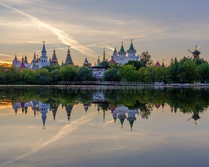 Izmailovsky Kremlin fotos de archivo