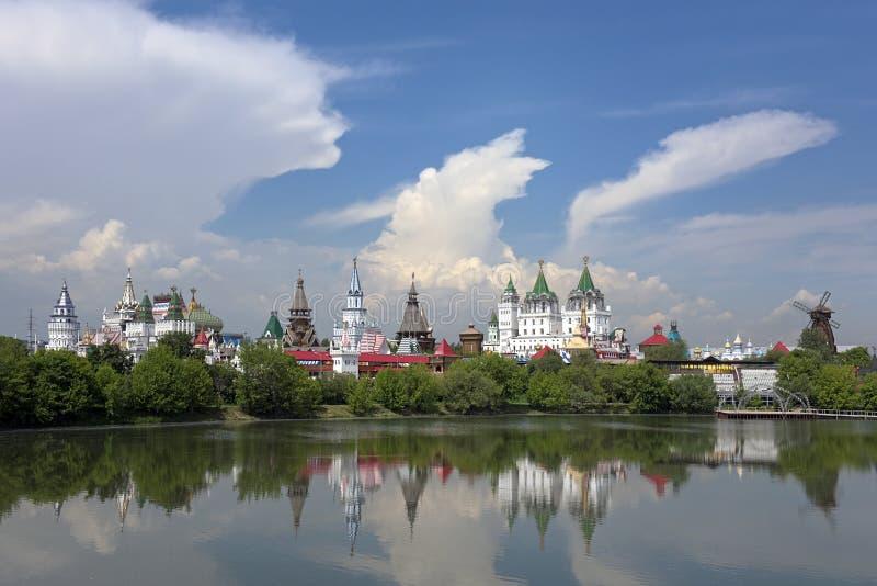 Izmaylovo Kremlin Moscovo, Rússia fotografia de stock royalty free