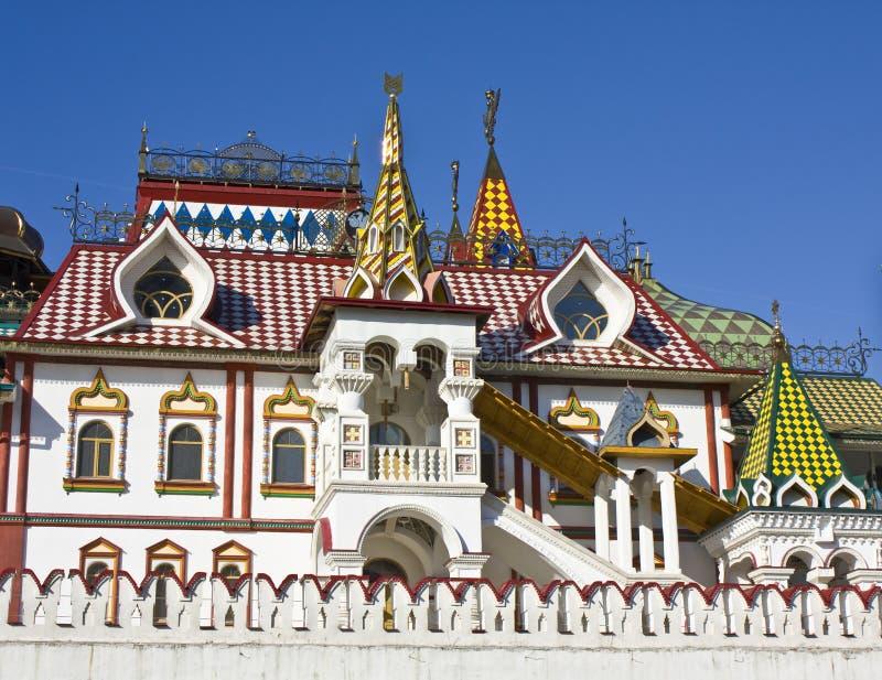 Izmaylovo vernisage, Moskau lizenzfreies stockbild
