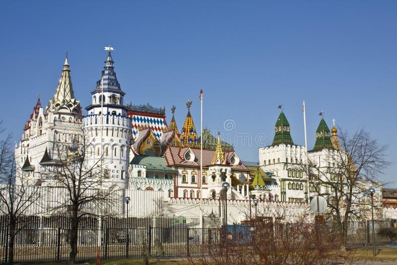 Izmaylovo vernisage, Moskau lizenzfreie stockbilder