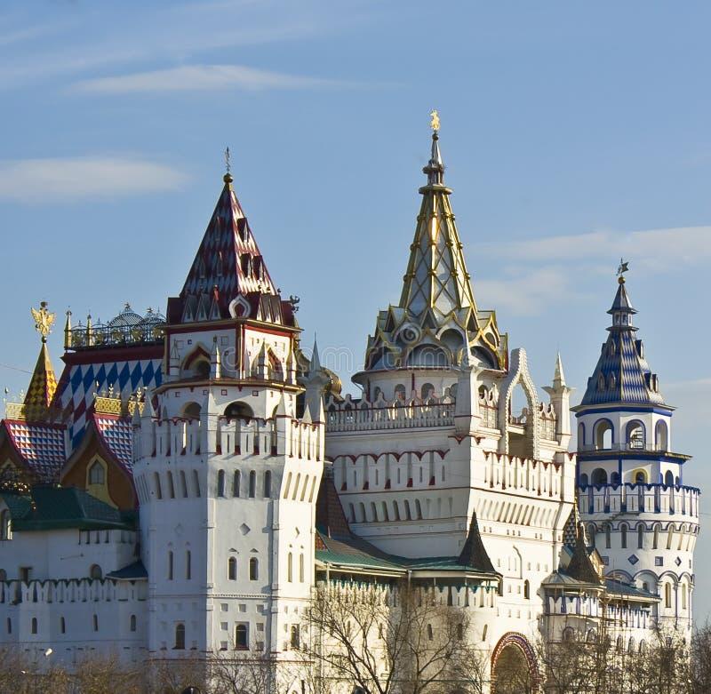 Izmaylovo vernisage, Moskau stockbild