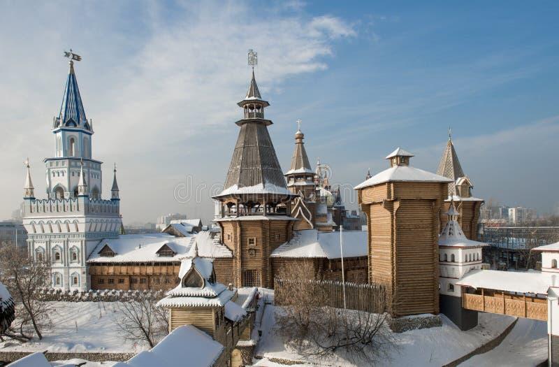 Izmaylovsky Kremlin imagem de stock royalty free