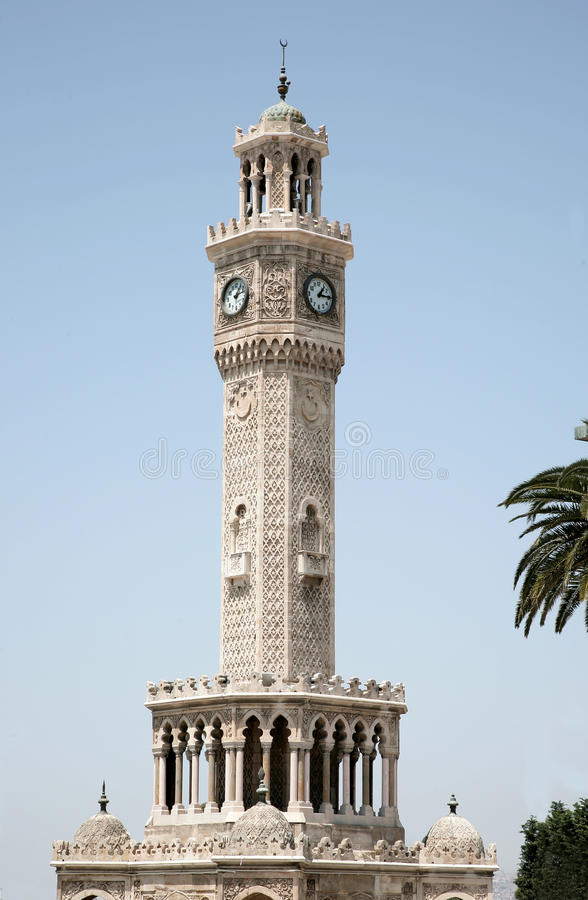 Download Izmir stock photo. Image of watch, tower, turkey, square - 9446810