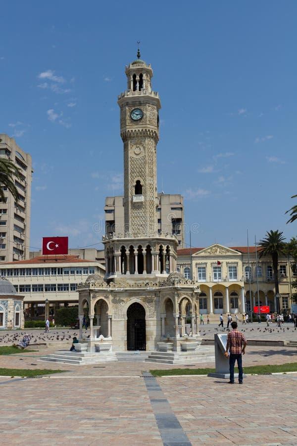 Ä°zmir Clock Tower - Ä°zmir Saat Kulesi royalty free stock photography