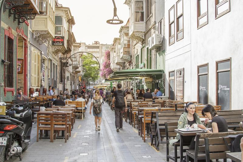 Izmir, die Türkei stockfoto