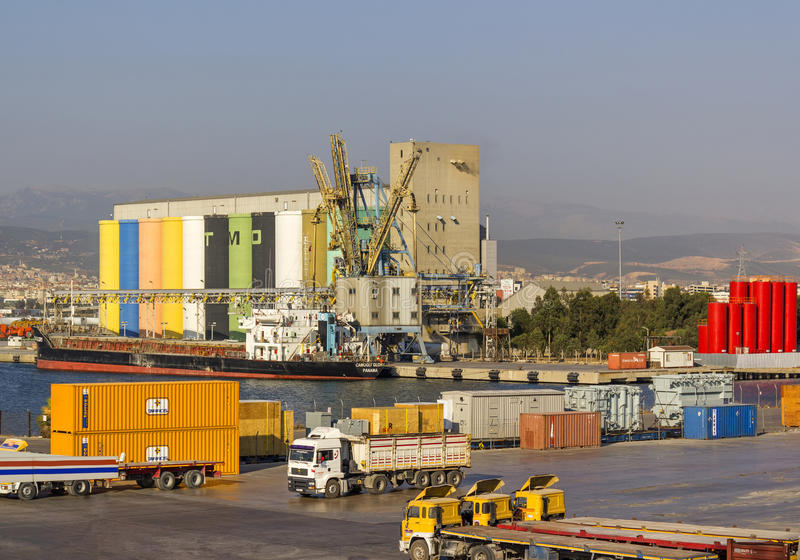 Download Izmir port editorial photography. Image of motorboat - 36466367