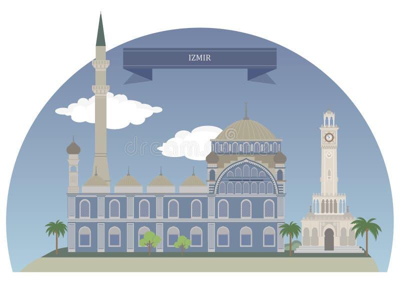 Izmir, Turquia ilustração royalty free