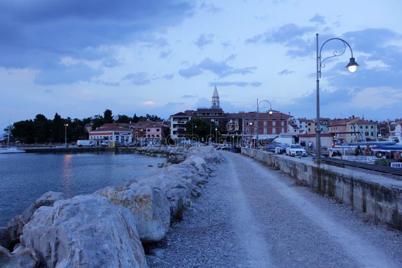 Izola en Slovénie images libres de droits