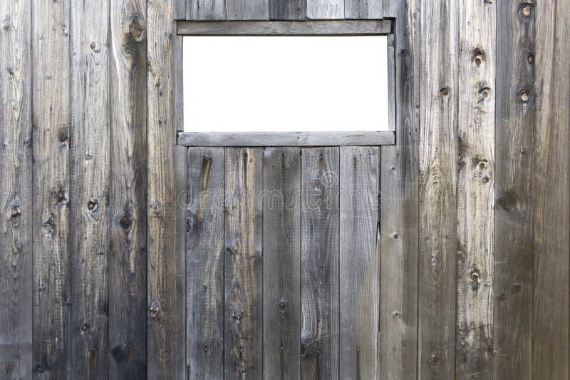 Izolujący okno na stajni zdjęcia royalty free
