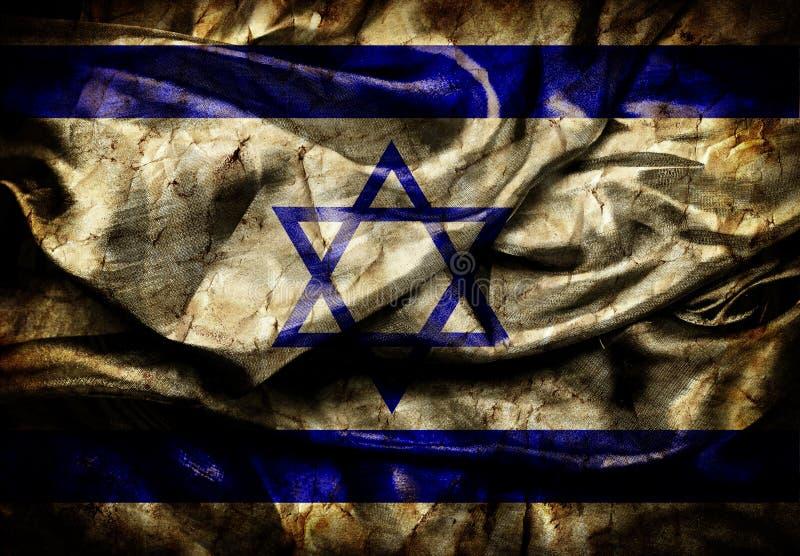 Izrael flaga royalty ilustracja