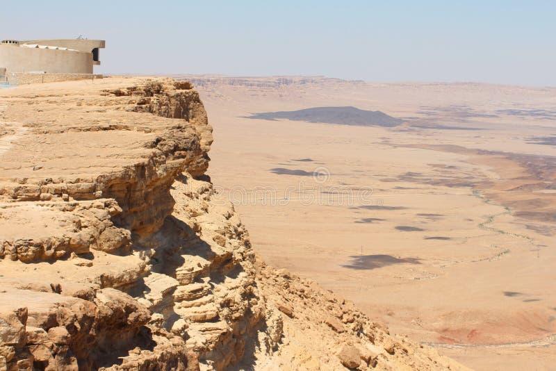 Izrael, Makhtesh - Ramon obraz stock