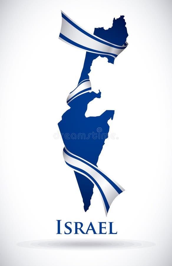 Izrael projekt ilustracji