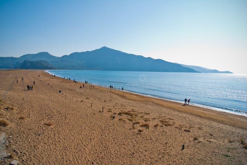 Download Iztuzu beach stock image. Image of blue, scenery, beautiful - 22252423