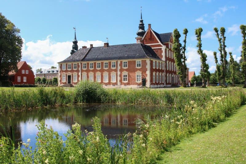 Jægerspris-Schloss, Jægerspris, Dänemark lizenzfreies stockfoto