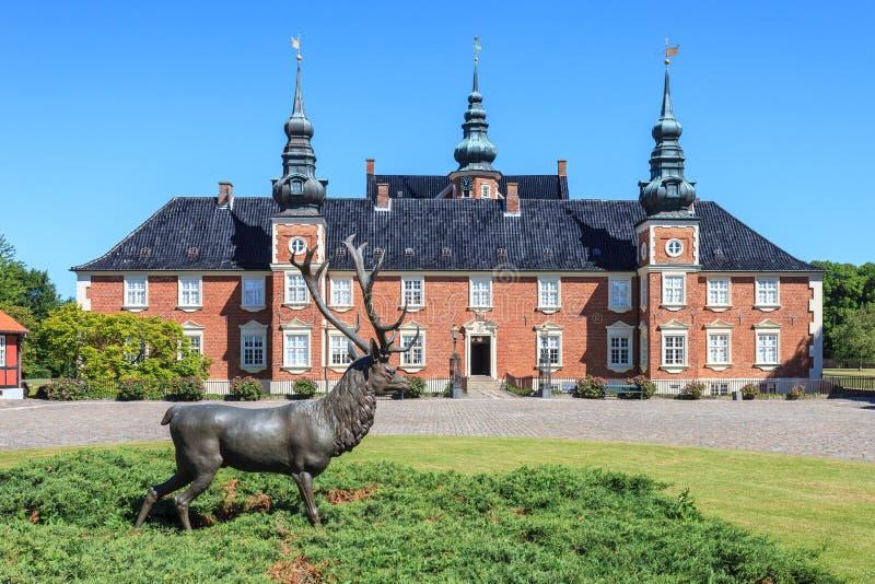 Jægerspris slott arkivbild