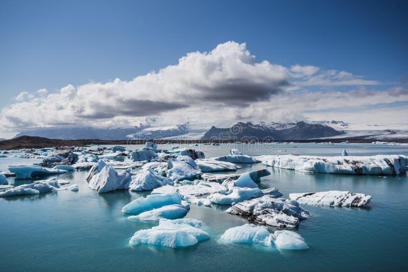 Jökulsarlon в Исландии стоковое изображение rf