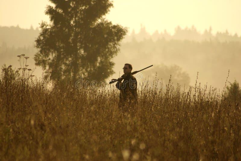 Jäger stockfoto