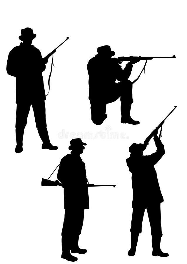 Jäger lizenzfreie abbildung
