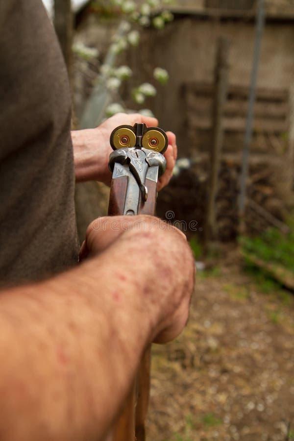 Jäger lizenzfreie stockfotografie
