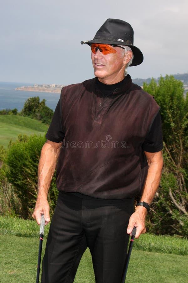 Jährliches Golf-Turnier Tschad-Everett LAPD stockbilder