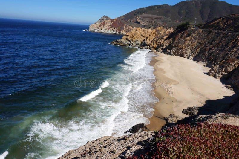 Jäkels glidbana Kalifornien arkivbild