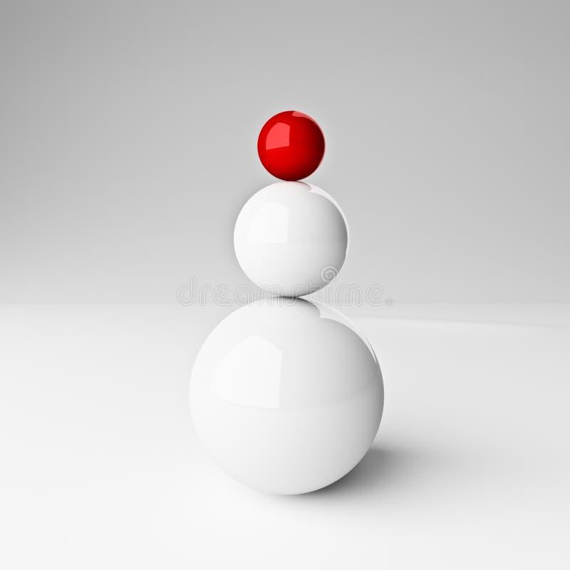 jämviktsframgång vektor illustrationer