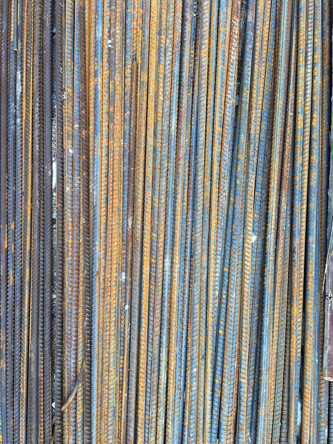 Järn i konstruktionszon arkivfoton