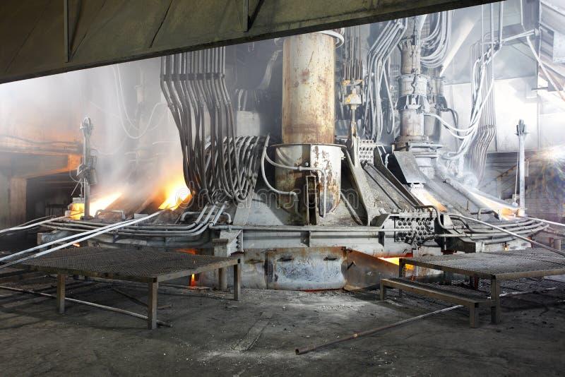 Järn- och stålbransch arkivfoto