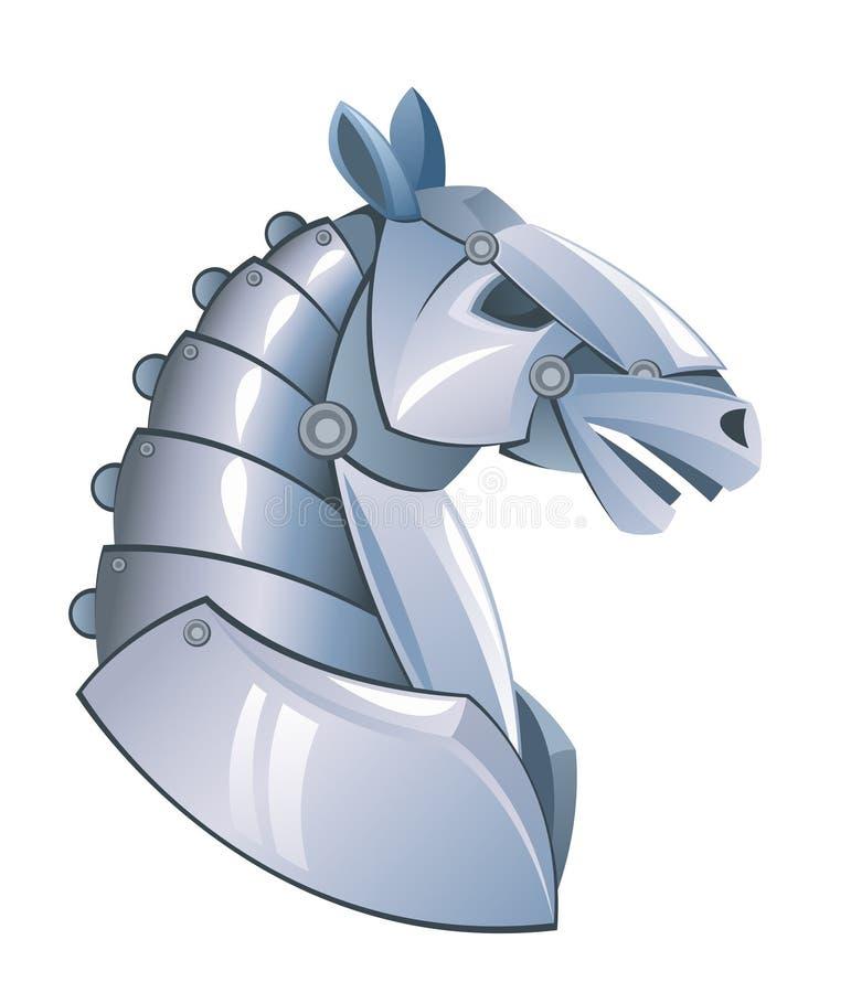 Järnhästhuvud vektor illustrationer