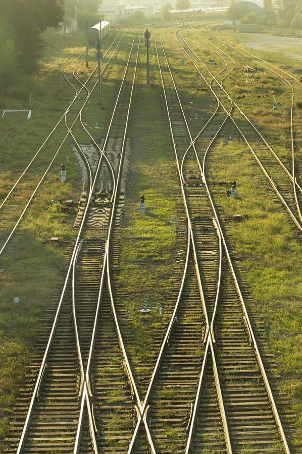järnväg 001 royaltyfri foto