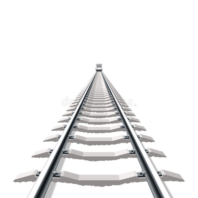 järnväg royaltyfri illustrationer