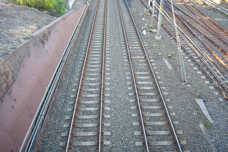 Järnväg snabbt passageraredrev royaltyfria foton