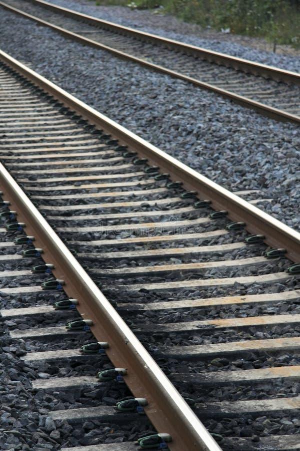 järnväg spår arkivbilder