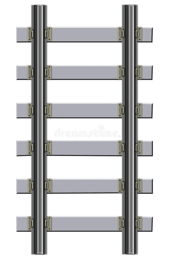 järnväg spår vektor illustrationer