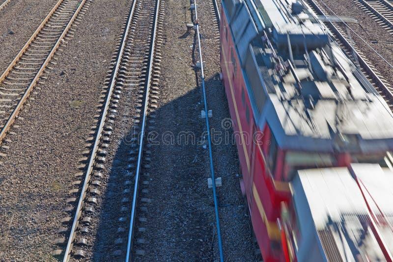 Järnväg väg arkivfoto