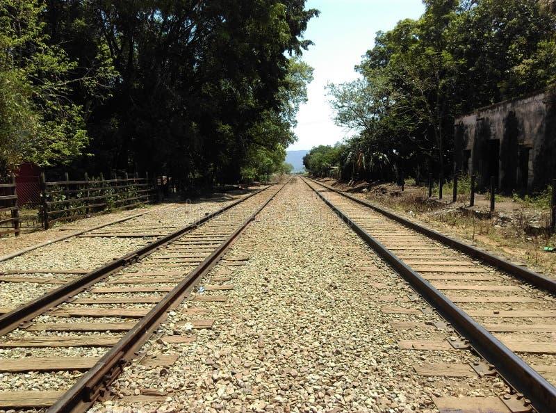 järnvägar royaltyfri bild