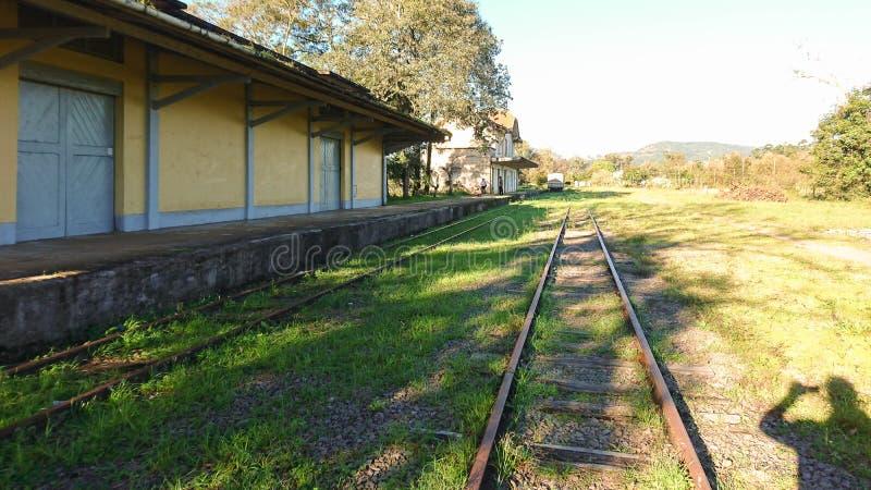 Järnvägen spårar 03 royaltyfri bild