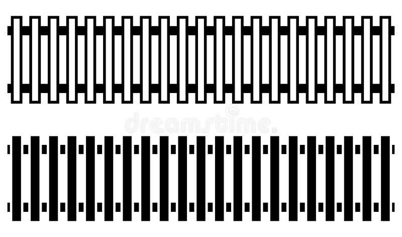Järnvägsspår med version 2 Gångtunnel spårvagnspår Offentlig transp stock illustrationer