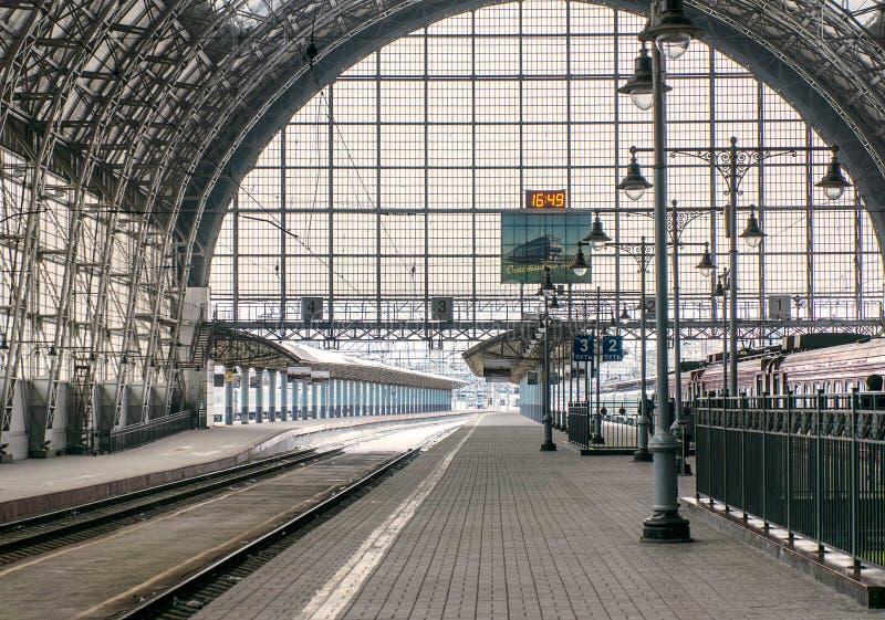Järnvägsstation arkivbilder