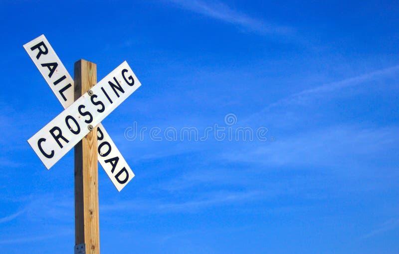 Download Järnvägtecken fotografering för bildbyråer. Bild av oklarheter - 35051