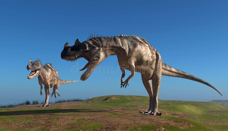 Dinosauren royaltyfri illustrationer