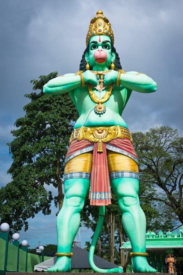 jätte- hanuman staty arkivfoto