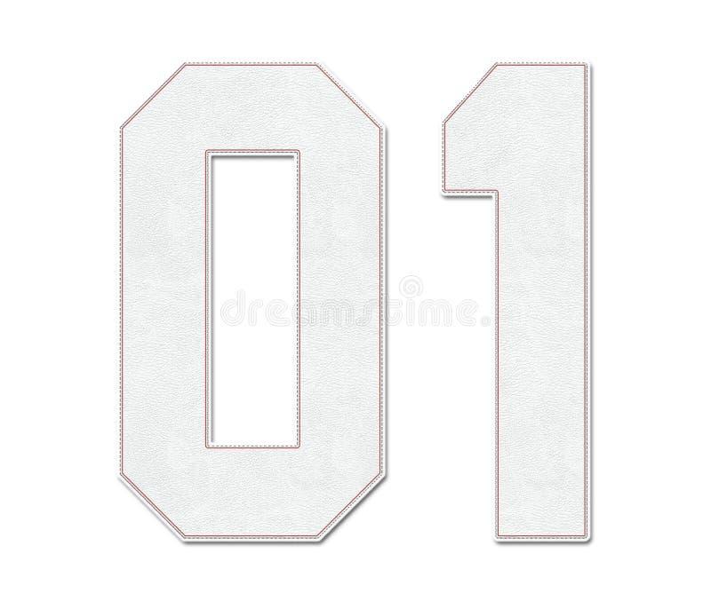 Jérsei clássico número 01 do esporte do basebol do vintage no olhar, no projeto/logotipos e na camisa do estilo da bola do basebo ilustração royalty free