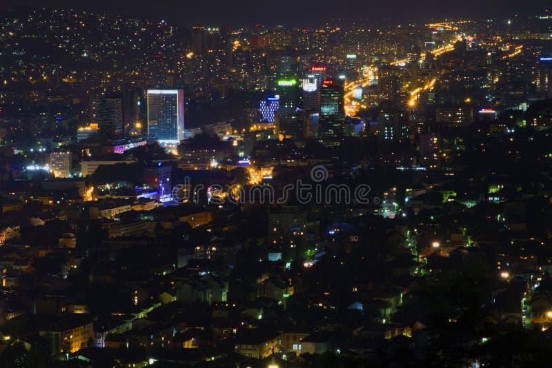 Jérusalem de l'Europe - Sarajevo image stock