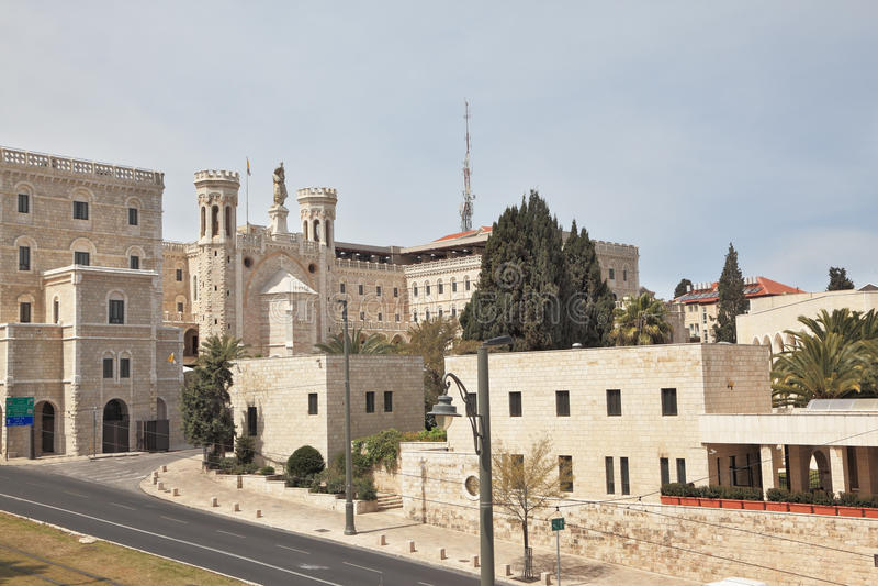 Jérusalem est des murs photos stock