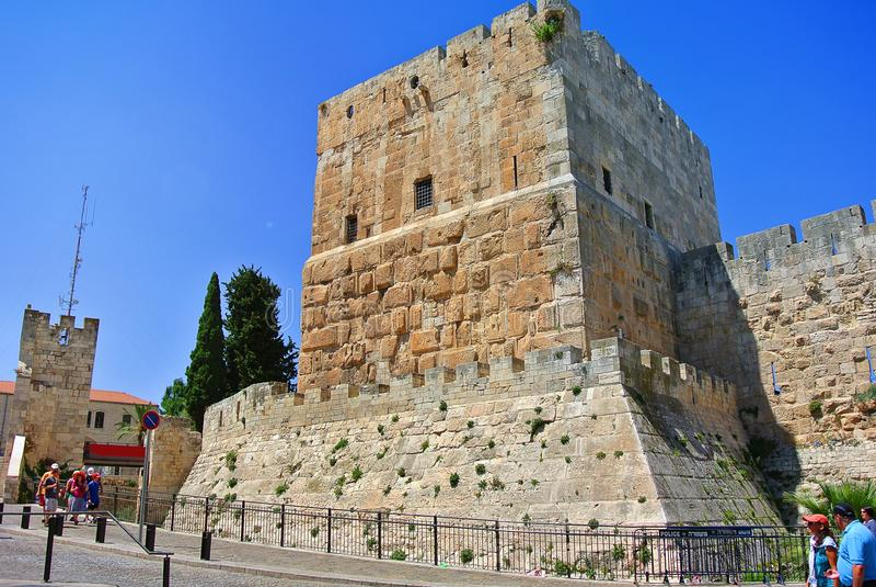 jérusalem l'israel Le berceau de trois religions images libres de droits